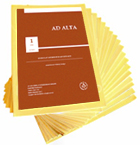 AD ALTA: JOURNAL OF INTERDISCIPLINARY RESEARCH